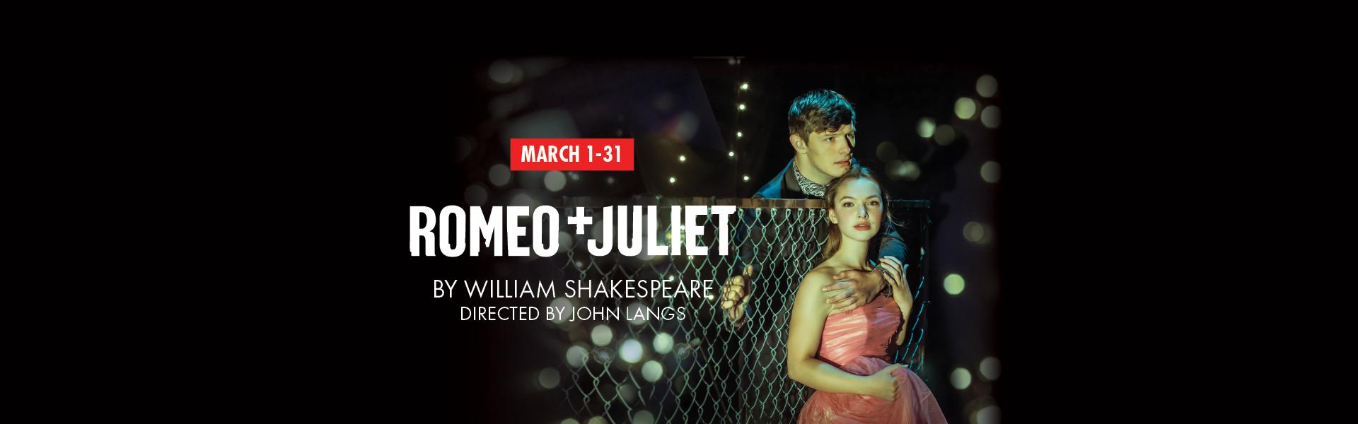 2019 Romeo & Juliet Page Banner