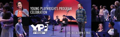Young Playwrights Program Celebration Banner Image